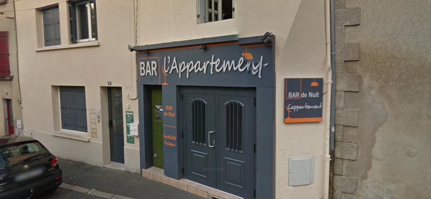Bar l'appartement à bressuire
